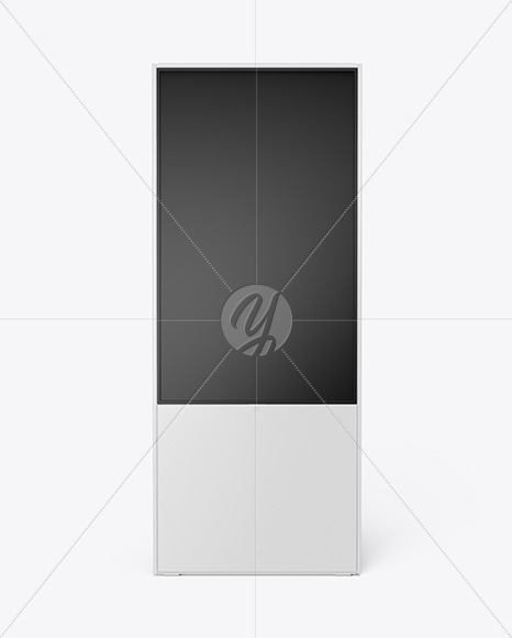 Digital Display Stand Mockup