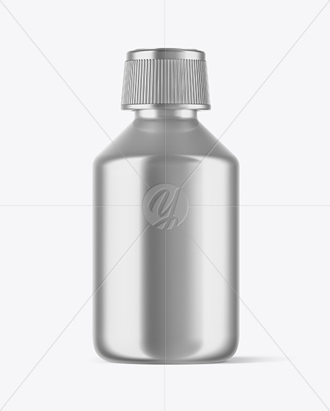 Mettalic Bottle Mockup