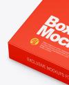 Matte Box With Marker Pens Mockup