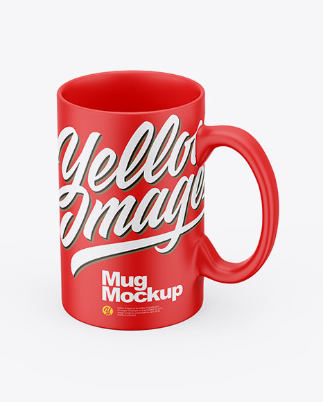 Matte Mug Mockup
