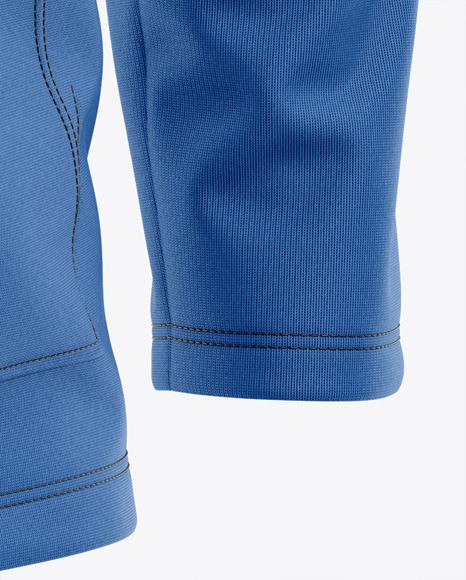 Men's Lightweight Kangaroo Pocket Hoodie T-Shirt