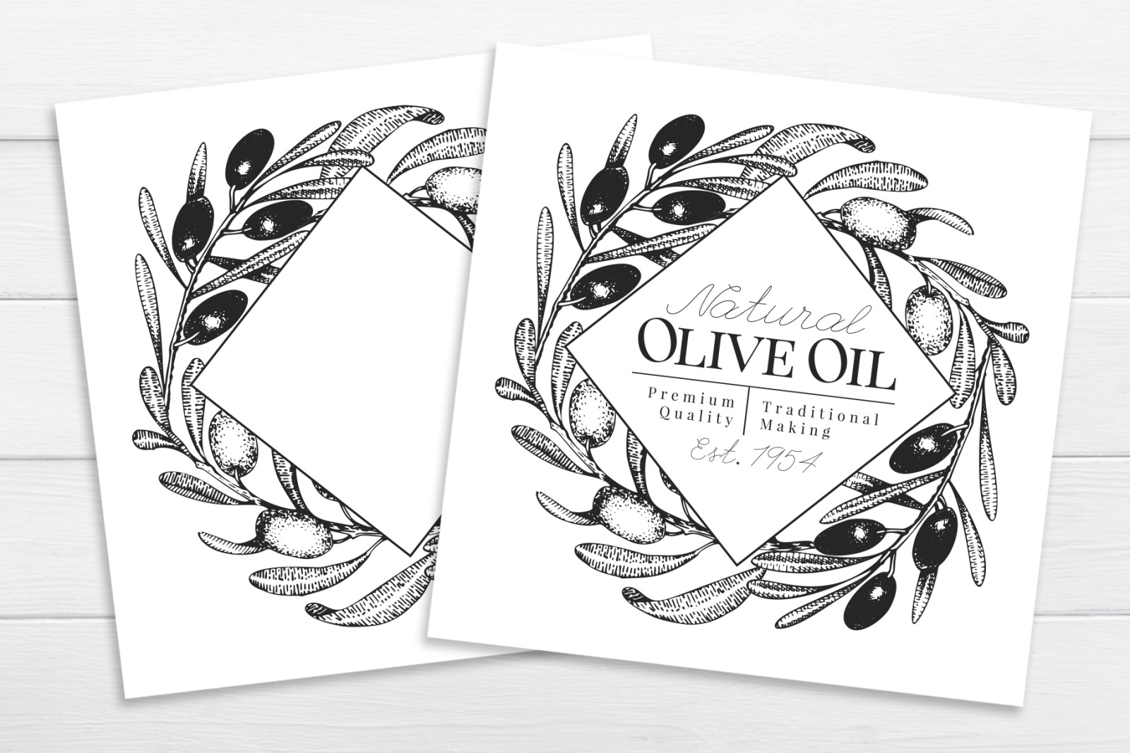Olive Vector Collection