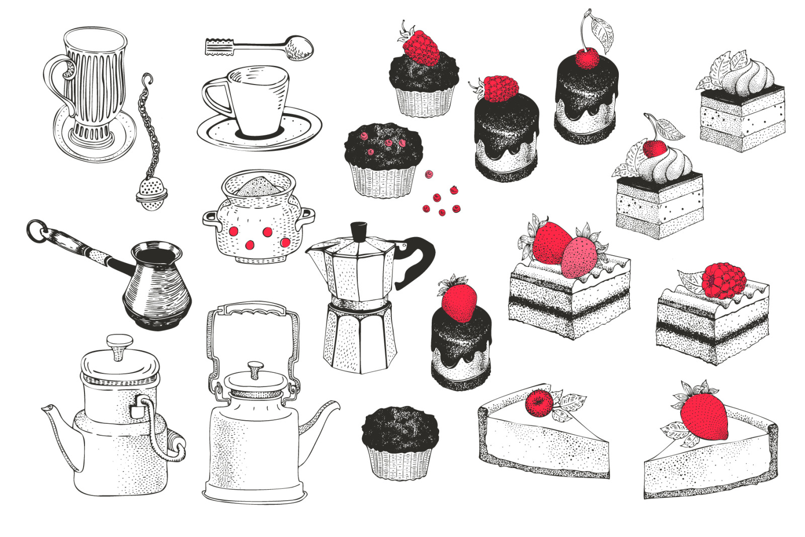 Bakery Vector Collection