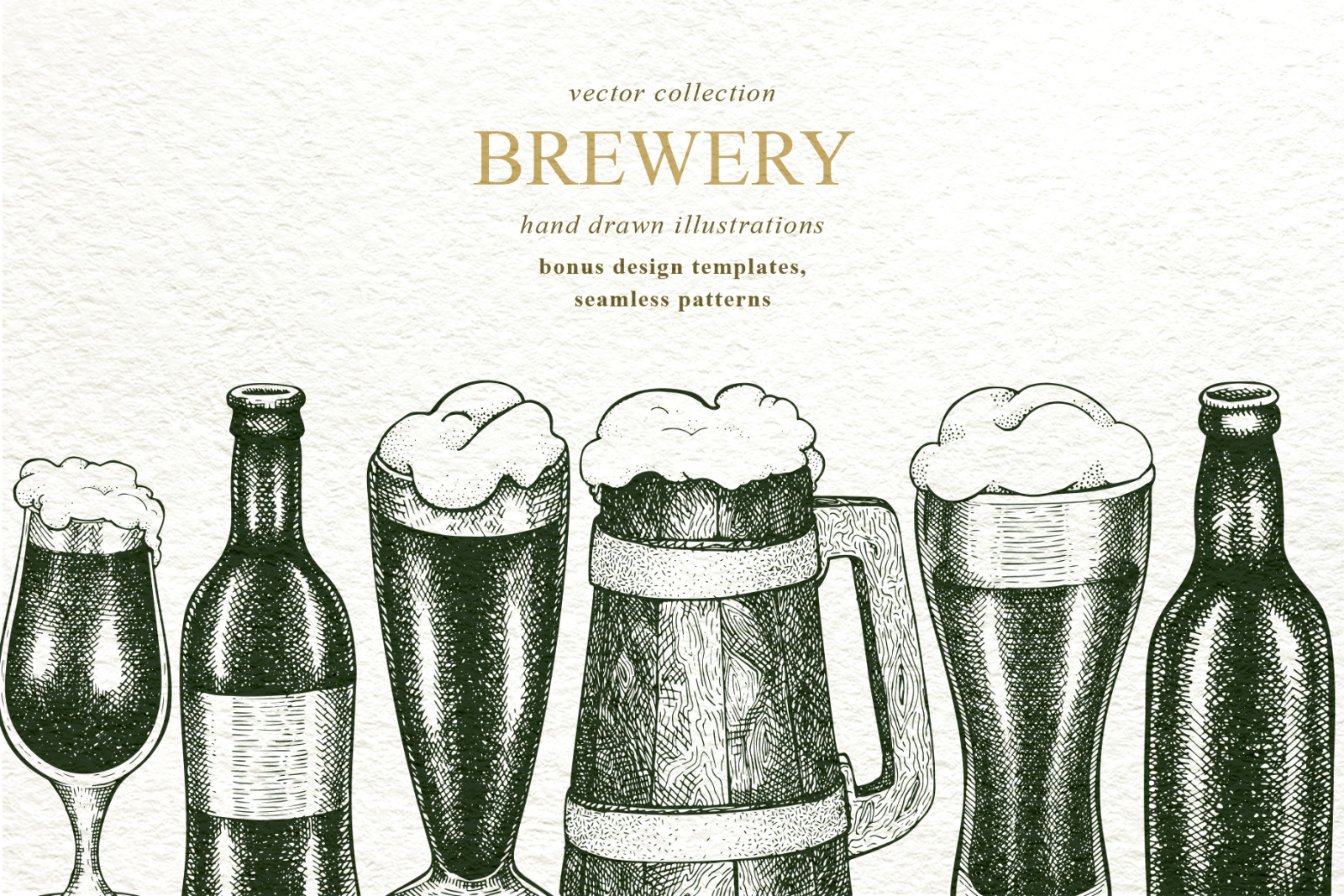Brewery Vector Collection