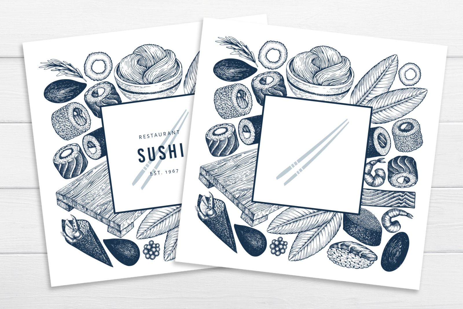Sushi Vector Collection