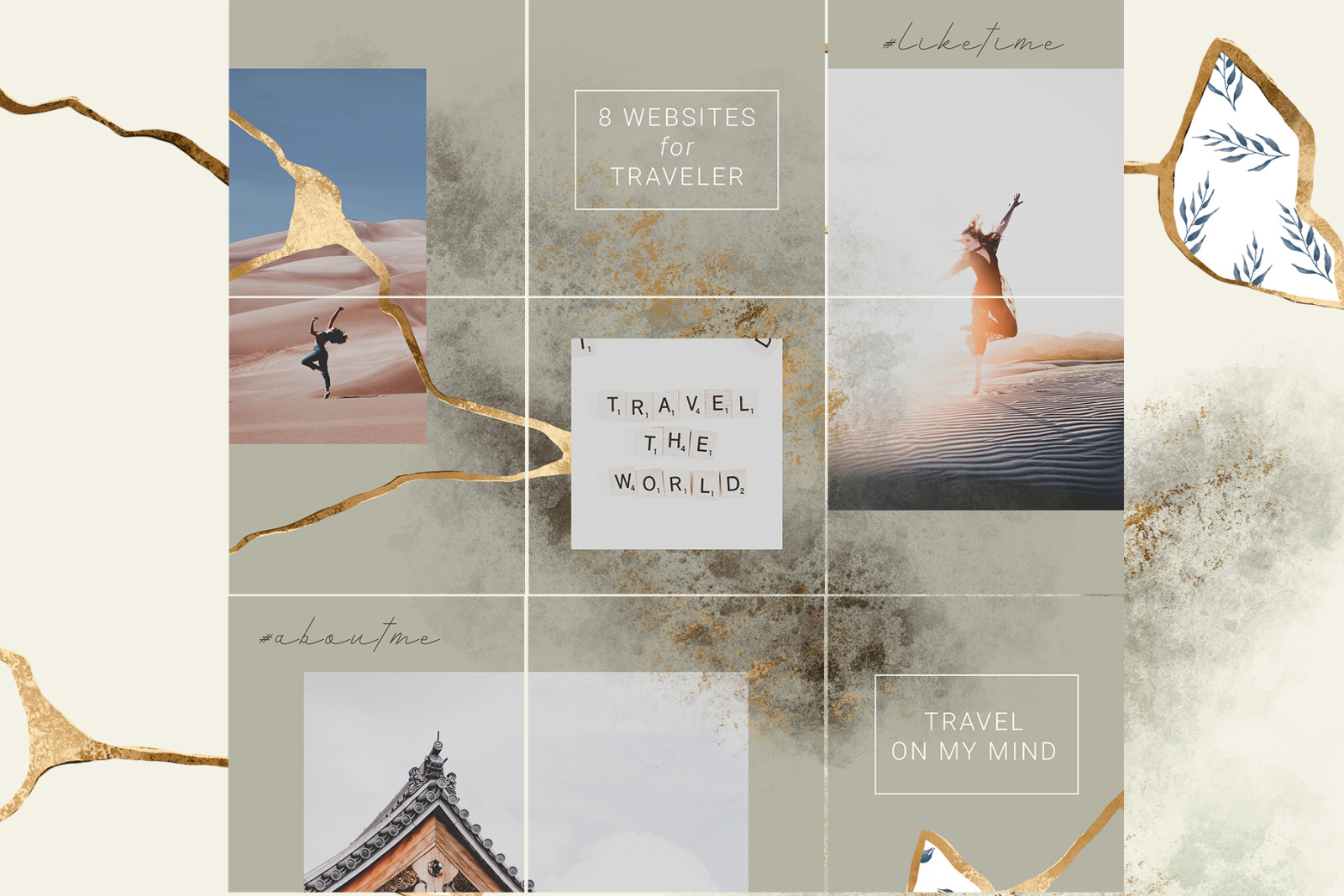 Luxury Instagram Puzzle Template