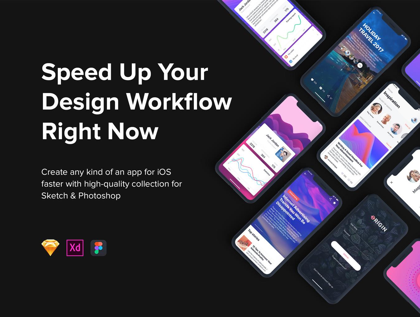 Origin Mobile UI Kit