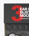 Ear Plugs Blister Pack Mockup