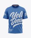 Men's Loose-Fit T-shirt Mockup - Front View