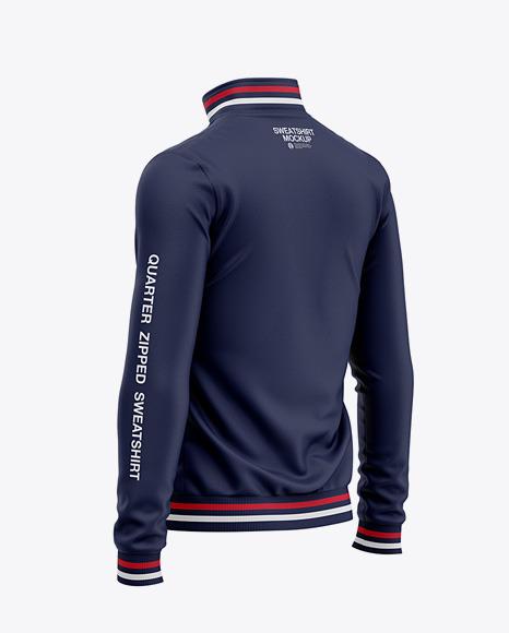 Zip Sweatshirt Mockup