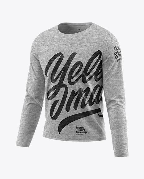 Download Mens Long Sleeve Sweatshirt Mockup Yellowimages