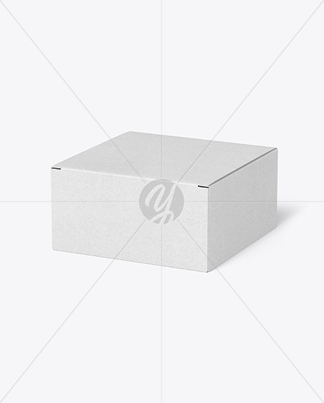 Download Kraft Paper Box Mockup in Box Mockups on Yellow Images ...