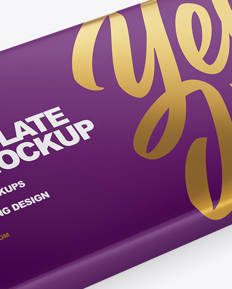 Download Chocolate Bar Packaging Mockup Free PSD - Free PSD Mockup Templates