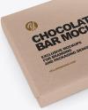Chocolate Bar Kraft Mockup