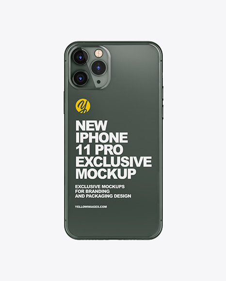 Download Iphone 11 Pro Mockup In Device Mockups On Yellow Images Object Mockups PSD Mockup Templates