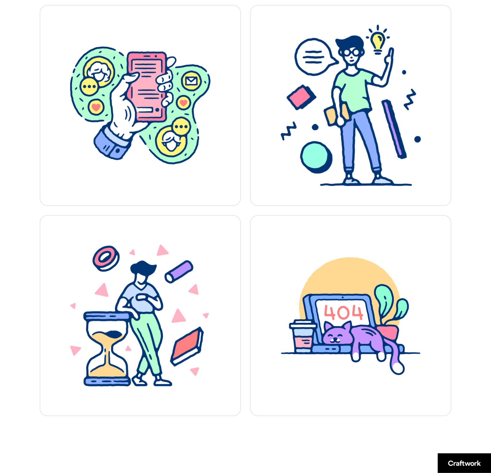Thursday Illustrations