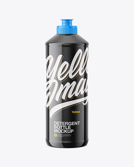 Download Glossy Detergent Bottle PSD Mockup