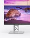 LCD Video Wall Mockup