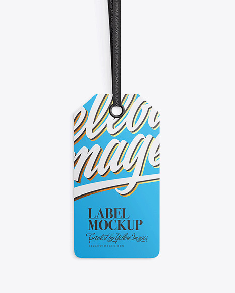 Matte Label Mockup