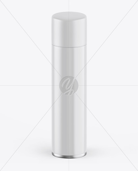 Glossy Spray Bottle w/ Matte Cap Mockup
