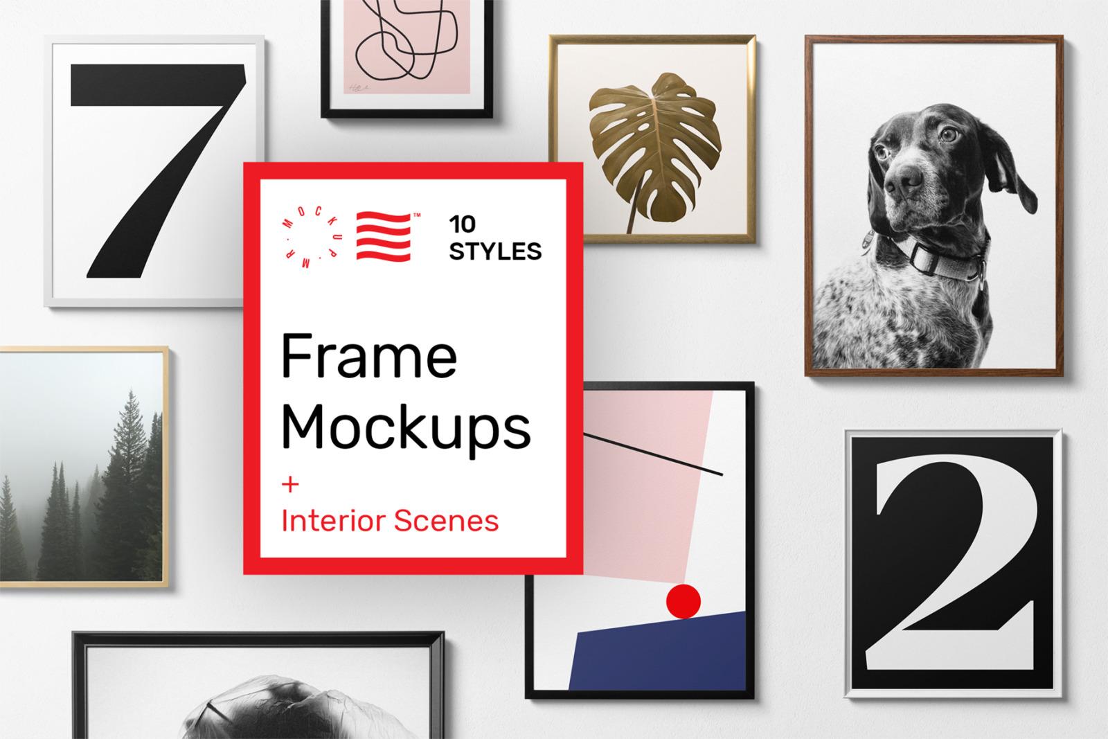 Poster Frame Mockups - Generator