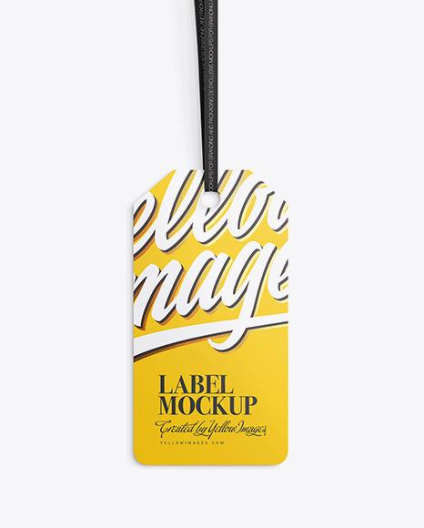 Download Matte Label PSD Mockup