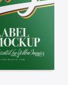 Textured Label Mockup