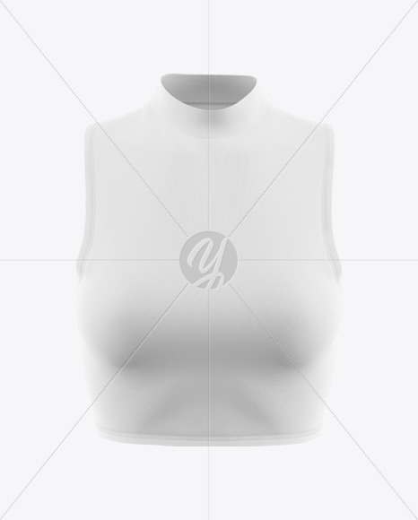 Women's Crop Top Mockup