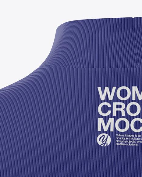 Women's Crop Top Mockup
