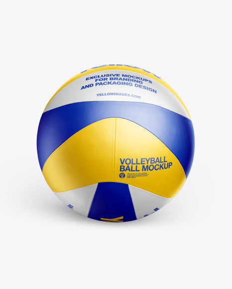 Download Volleyball Ball PSD Mockup