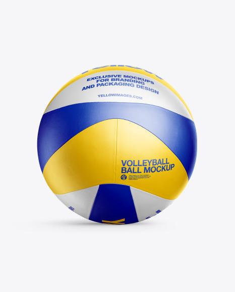 Volleyball Ball Mockup