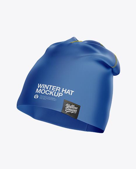Download Winter Hat PSD Mockup