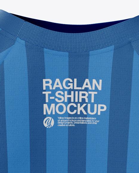 Download Women S Raglan T Shirt Mockup In Apparel Mockups On Yellow Images Object Mockups PSD Mockup Templates