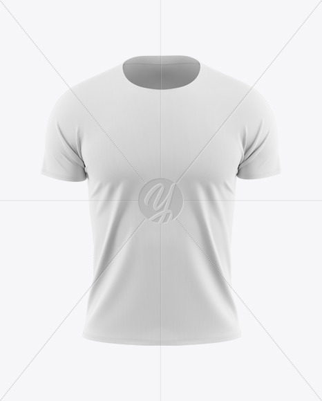 Men's Raglan T-Shirt Mockup