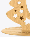 Wooden Christmas Tree Toy
