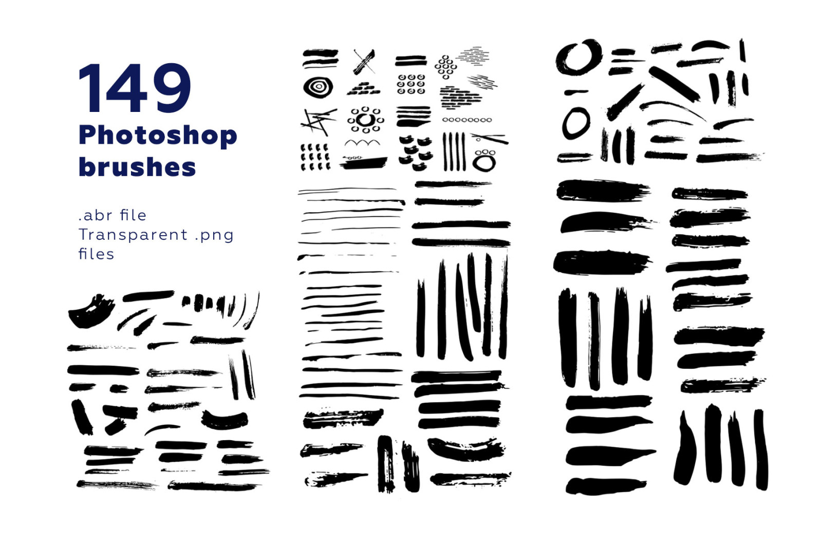 Brushes, Backgrounds, Patterns