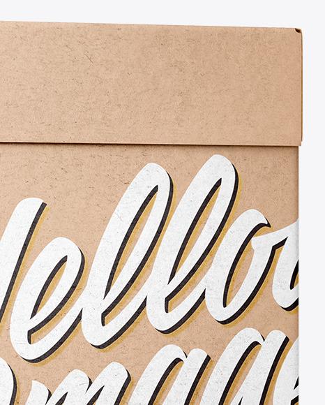 Carton Kraft Box Mockup