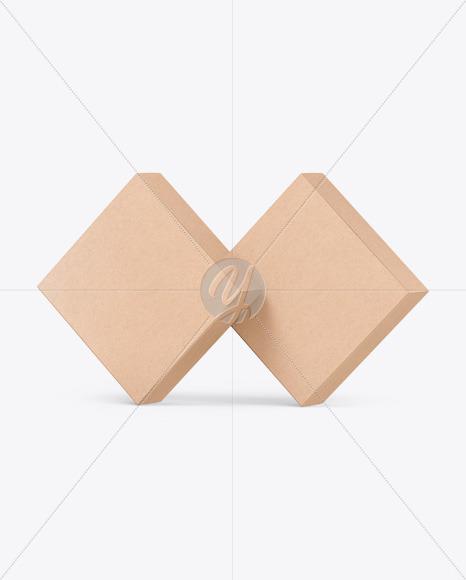 Two Kraft Boxes Mockup