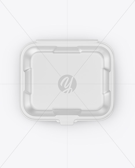Matte Tray with Paper Label Mockup