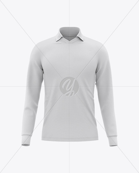 Men's Raglan Soccer V-Neck Jersey - Front View