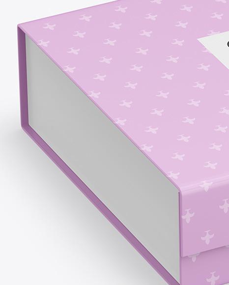 Gift Paper Box Mockup