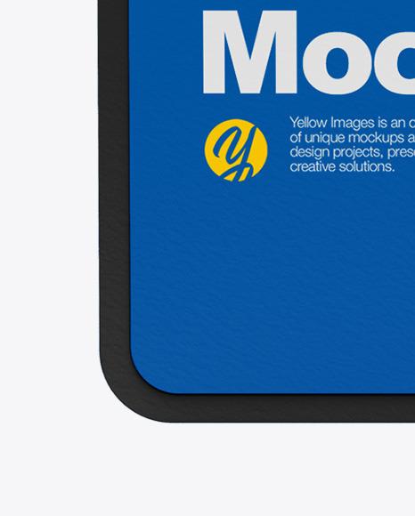 Paper Bookmark Mockup