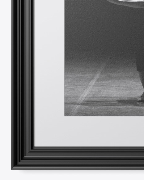 Textured Picture Frame Mockup