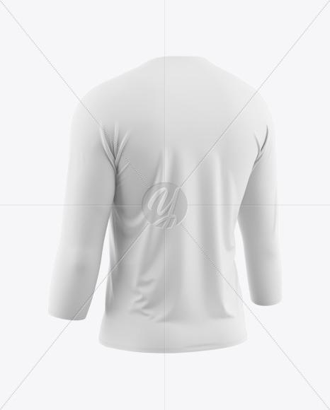 Men's Raglan T-Shirt 3/4 Sleeves