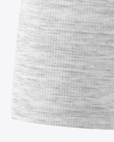 Melange Men's Raglan T-Shirt 3/4 Sleeves