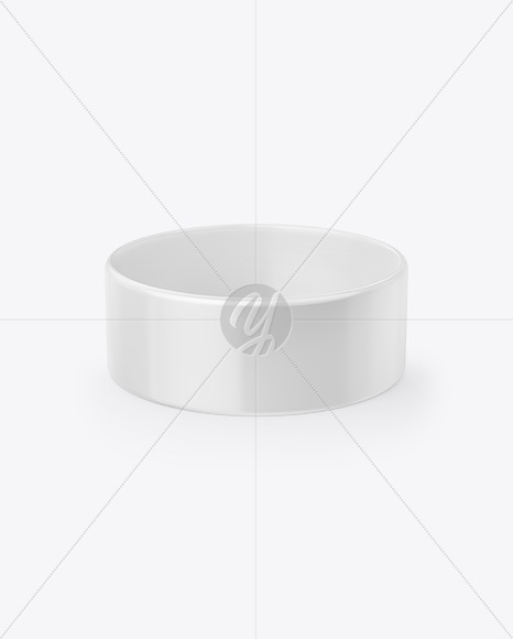 1-Inch Glossy Wristband Mockup