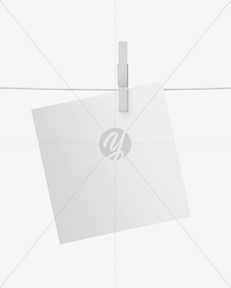 Snapshot w/ Pin Mockup