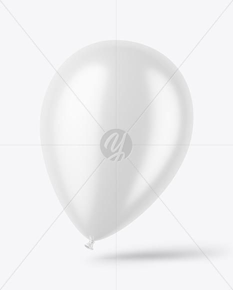 Glossy Balloon Mockup