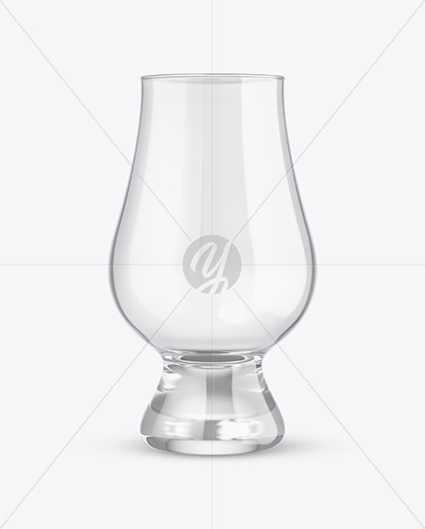 Clear Whisky Glass Mockup