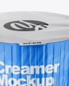 Glossy Coffee Creamer Mockup